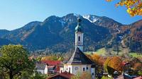 © Tourismus Lenggries / Christian Bäck / Lenggries, Bayern - Herbststimmung / Zum Vergrößern auf das Bild klicken