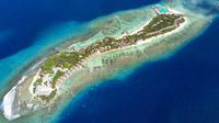 © Katja Hasselkus / Helengeli, Malediven - Insel / Zum Vergrößern auf das Bild klicken