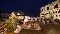 © Aosta / Enrico Romanzi / Aosta, Italien - Römisches Amphitheater Aosta / Zum Vergrößern auf das Bild klicken