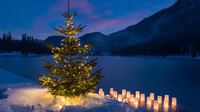Pillerseetal, Tirol - Advent mit Lichterglanz