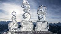 © Gasteinertal Tourismus / Art on Snow - Eisskulptur Fulseck Neumayer / Zum Vergrößern auf das Bild klicken