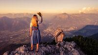 © Daniel Leitner / Bad Ischl, Salzkammergut - Aussichtsberg Katrin / Zum Vergrößern auf das Bild klicken