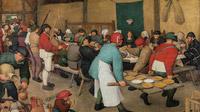 © KHM-Museumsverband / KHM Wien - Ausstellung Bruegel_Bauernhochzeit_detail