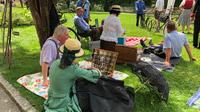 © Edith Spitzer, Wien / Bad Ischl, Salzkammergut - Picknick / Zum Vergrößern auf das Bild klicken