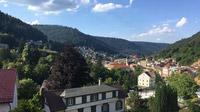 © Edith Spitzer, Wien / Bad Wildbad, Baden-Württemberg - Blick von Hotel Rothfuss / Zum Vergrößern auf das Bild klicken