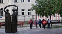 © Edith Spitzer, Wien / Banska Bystrica, SK - Start_Barbaraweg / Zum Vergrößern auf das Bild klicken