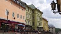 © Edith Spitzer, Wien / Banska Stiavnica, SK - Häuserzeile / Zum Vergrößern auf das Bild klicken