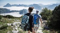 © Oberösterreich Tourismus GmbH / Robert Maybach / Salzkammergut, OÖ - Wandern Feuerkogel / Zum Vergrößern auf das Bild klicken