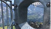 © Edith Spitzer, Wien / Birg, CH - Thrill Walk_Tunnel / Zum Vergrößern auf das Bild klicken