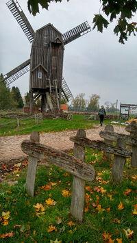 © Tourismusverband Prignitz e.V. / Prignitz, DE - Bockwindmühle / Zum Vergrößern auf das Bild klicken