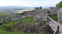 © Edith Spitzer, Wien / Burg Pusty hrad, SK - Burganlage / Zum Vergrößern auf das Bild klicken