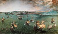 © Rom, Galleria Doria Pamphilj / KHM Wien - Ausstellung Bruegel_Der Hafen von Neapel / Zum Vergrößern auf das Bild klicken