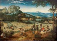 © Prag, The Lobkowicz Collection / KHM Wien - Ausstellung Bruegel_Die Heuernte / Zum Vergrößern auf das Bild klicken