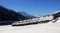 © Rhätische Bahn / RhB, Schweiz - Dampffahrt durch Graubünden / Zum Vergrößern auf das Bild klicken