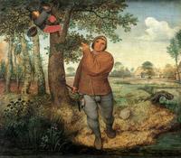 © KHM-Museumsverband / KHM Wien - Ausstellung Bruegel_Der Vogeldieb / Zum Vergrößern auf das Bild klicken