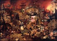 © Museum Mayer van den Bergh / KHM Wien - Ausstellung Bruegel_DulleGriet / Zum Vergrößern auf das Bild klicken