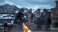 © Defrancesco / Eiblberg, Tirol - Lagerfeuer / Zum Vergrößern auf das Bild klicken