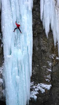 © Engadin St. Moritz / Robert Boesch / Engadin St. Moritz, Schweiz - Eisklettern  / Zum Vergrößern auf das Bild klicken