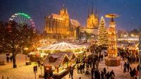 © Erfurt Tourismus & Marketing GmbH/Matthias F. Schmidt / Erfurt, Thüringen - Weihnachtsmarkt im Schnee