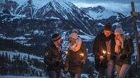 © Defrancesco / Pillersee, Tirol - Fackelwanderung / Zum Vergrößern auf das Bild klicken