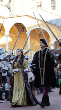 © Turismo Ferrara / Ferrara, Italien - Renaissance Karneval / Zum Vergrößern auf das Bild klicken