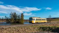 © NÖVOG / Heussler / Waldviertelbahn - Goldener Triebwagen / Zum Vergrößern auf das Bild klicken
