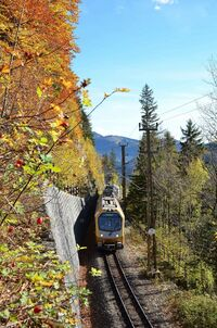 © Niederösterreich Bahnen / Krippl / Mariazellerbahn, Mostviertel - Himmelstreppe / Zum Vergrößern auf das Bild klicken