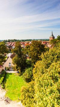 © Tourismusverband Prignitz e.V. / Markus Tiemann / Lenzen, Prignitz - Historischer Stadtkern / Zum Vergrößern auf das Bild klicken