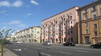 © Edith Köchl, Wien / Minsk, Belarus - Häuserzeile / Zum Vergrößern auf das Bild klicken