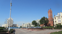 © Edith Köchl, Wien / Minsk, Belarus - Unabhängigkeitsplatz / Zum Vergrößern auf das Bild klicken
