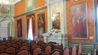 © Edith Köchl, Wien / Schloss Njaswisch, Belarus - Festsaal / Zum Vergrößern auf das Bild klicken