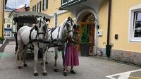 © Edith Spitzer, Wien / Bad Ischl, Salzkammergut - Fiakerin / Zum Vergrößern auf das Bild klicken