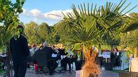 © Edith Spitzer, Wien / Alte Donau, Wien - Flying Concert / Zum Vergrößern auf das Bild klicken