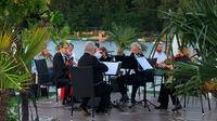 © Edith Spitzer, Wien / Alte Donau, Wien - Flying Concert Vienna Strings / Zum Vergrößern auf das Bild klicken
