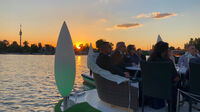 © Edith Spitzer, Wien / Alte Donau, Wien - Abendstimmung Flying Concert / Zum Vergrößern auf das Bild klicken