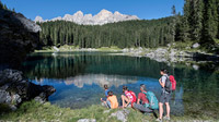 © Eggental Tourismus / Karer See, Eggental / Zum Vergrößern auf das Bild klicken