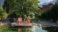 © Edith Spitzer, Wien / Interlaken, CH - Hotelgarten / Zum Vergrößern auf das Bild klicken