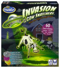 © Ravensburger / Spiel Invasion of the Cow Snatchers / Zum Vergrößern auf das Bild klicken