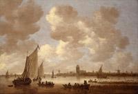 © Dordrechts Museum, NL / Jan van Goyen - Sicht auf Dordrecht / Zum Vergrößern auf das Bild klicken