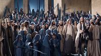 © Passionsspiele Oberammergau / Brigitte Maria Mayer / Passionsspiele Oberammergau, DE - Jesus betritt Jerusalem / Zum Vergrößern auf das Bild klicken