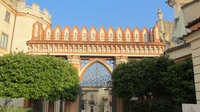 © Edith Köchl, Wien / Castello Ducale, Kalabrien - Terrasse / Zum Vergrößern auf das Bild klicken