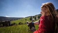 © Tourismusverband Erzgebirge e.V. / René Gaens / Oberwiesenthal, DE - Kammweg / Zum Vergrößern auf das Bild klicken