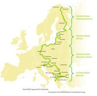 © naturschutzbund / © European Green Belt Initiative/Coordination Group / Karte Grünes Band Europa / Zum Vergrößern auf das Bild klicken