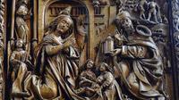 © www.55PLUS-magazin.net | Edith Spitzer, Wien / Kefermarkt, Mühlviertel - gotischer Flügelaltar_Jesu Geburt / Zum Vergrößern auf das Bild klicken