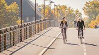 Konstanz, DE - Fahrradbrücke
