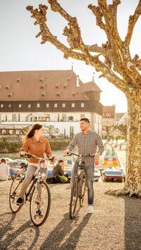 Konstanz, DE - Radfahren Konzil