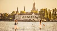 © MTK Dagmar Schwelle / Konstanz, Bodensee - SUP / Zum Vergrößern auf das Bild klicken