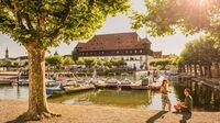© MTK Dagmar Schwelle / Konstanz, Bodensee - Stadtgarten_Konzil / Zum Vergrößern auf das Bild klicken
