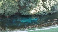 © Edith Köchl, Wien / Erl, Tirol - Blaue Quelle / Zum Vergrößern auf das Bild klicken
