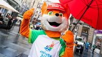 © European Games / Martin Steiger / European Games, Belarus - Maskottchen / Zum Vergrößern auf das Bild klicken